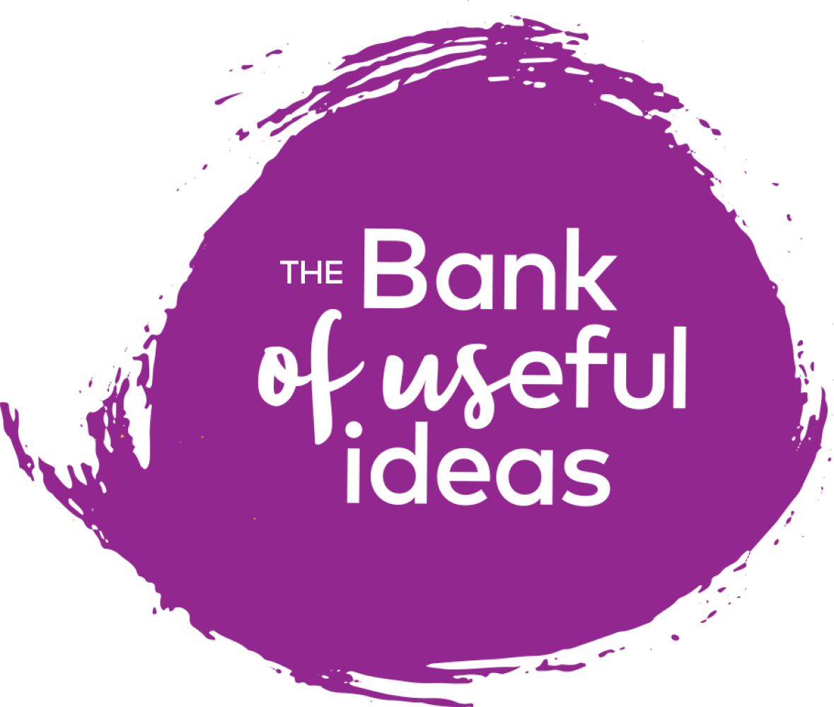Bank of useful ideas
