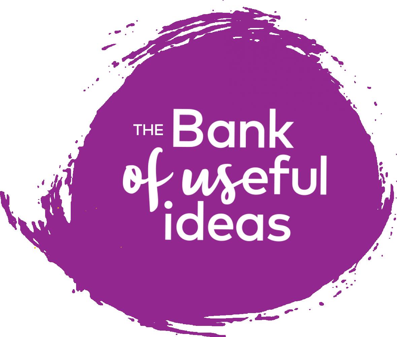 Bank of useful ideas
